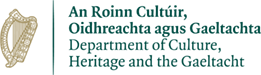 Department of Culture, Heritage and the Gaeltacht logo