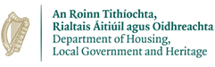 Department of Housing, Local Government and Heritage logo