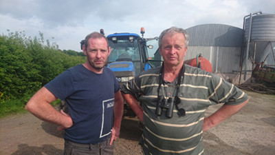 Joe and Sal Monaghan, participants in the Curlew Conservation Programme