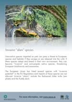 CITES Invasive Alien Species poster thumbnail image