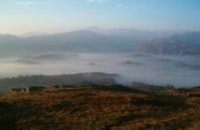Photo of a misty morning at Glengarriff