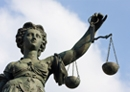 Photo depicting scales of justice